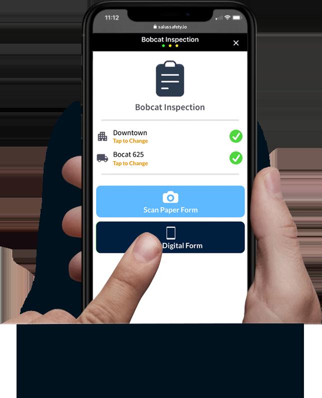 Salus Safety Digital Form Mobile